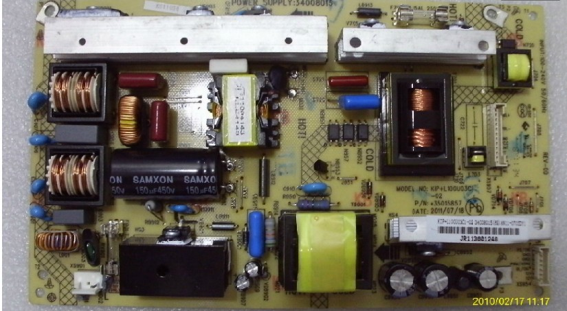 网 软件下载 康佳LC32TS86C 34008015 KIP L100U3C1 01 电源电路图片