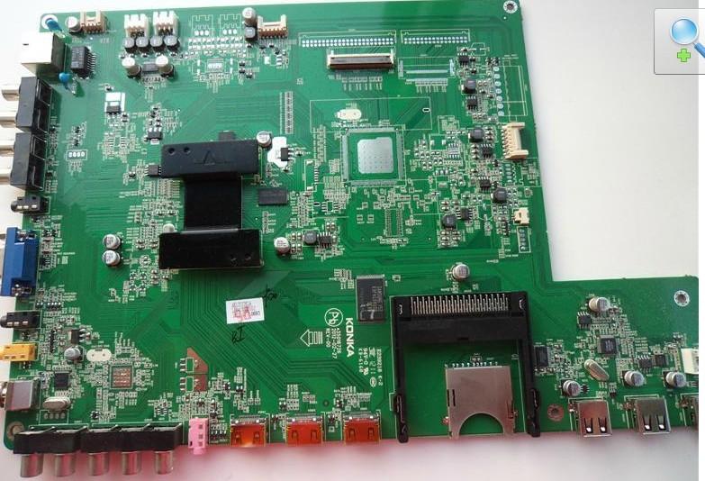 康佳led40x6000de主板6i988(35016726)电路图